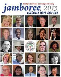 Southern California Genealogical Society -- Jamboree Extension Series -- Free webinar schedule for 2013 #gentipjar #genealogy #education