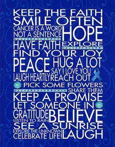 Keep the Faith Colon Cancer