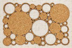 Cork Circle Mat from Elle's Studio