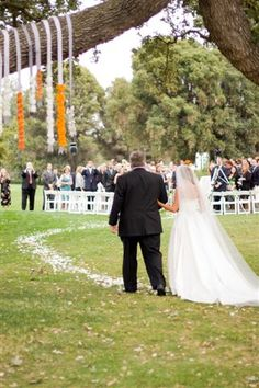 Here Comes the Bride... by Weddings at Ojai Valley Inn & Spa, via Flickr