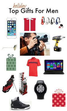 Top Gifts for Men -