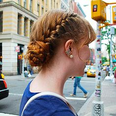 Summer Hairstyles Spotted On the Streets hairstyl spot, hot weather hair, hairstyles for hot weather, special occasions, hair style, occas hairstyl, summer hairstyles, special occasion hairstyles
