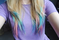 Hair chalks tute