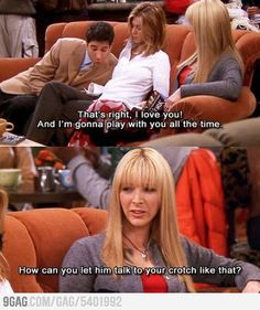 This is why I love Phoebe