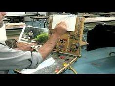 Basic Oil Painting Techniques : How to Start an Oil Painting oil paintings, paint lesson, oil painting techniques, olieverf, art tutori, arttutori, paint techniqu, video