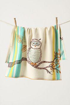 Owl towel!