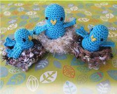 Crochet bird patterns  Many FREE bird patterns.  ~ Inspiration