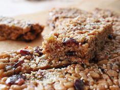 Almond Granola Berry Bars  http://www.yumuniverse.com/2012/11/14/new-yu-contributor-fern-langhams-almond-granola-berry-bars/
