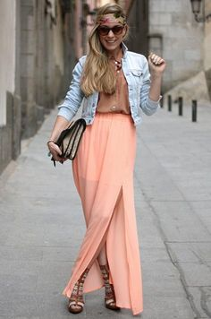 Street Style Faldas Largas