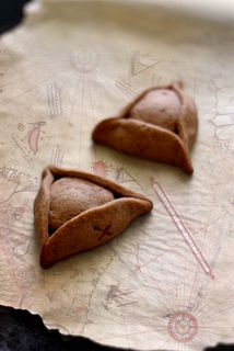 Pirate hat cookies