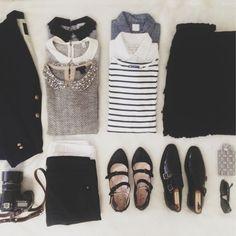 Parisian chic #fashion #style
