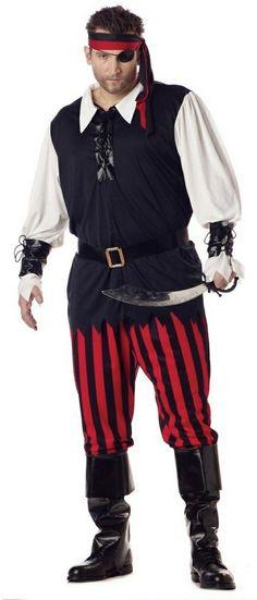 Adult Cutthroat Pirate Costume