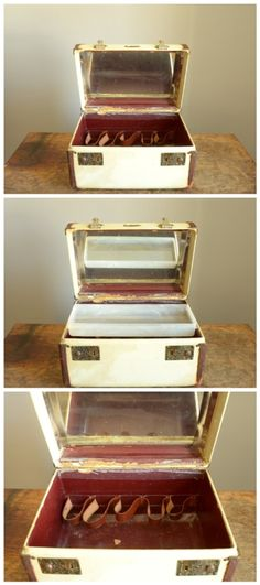 Vintage 1940s Herkert & Meisel Train Case