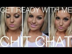 ▶ Chit Chat Getting Ready ♡ Naked Palette Dimensional Eyes For Glasses/Big Eyes - YouTube