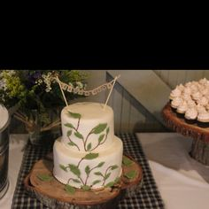 Wedding cake I did for a lovely couple.