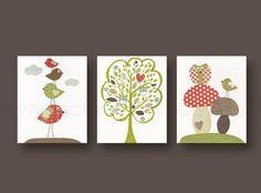 Nursery art prints baby nursery decor nursery art by GalerieAnais, $42.00