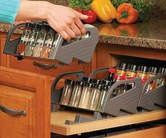 drawer spice trays