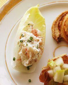 Endive with Shrimp Salad Recipe