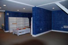 Ralph Lauren Blue Denim Wall  www.josephviens.com