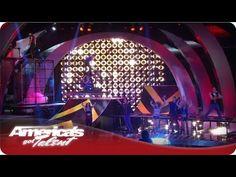 BMX Tricks and Acrobatic Dancers - America's Got Talent All Wheel Sports Quarterfinals #AGT