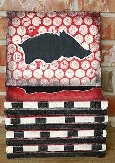 razorbacks, pig sooie, hog, canvas crafts, wooo pig, woo pig, razorback canva, thing, canvases