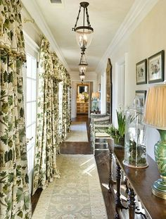 LOVE the drapery style!  For the dining room and living rooms?