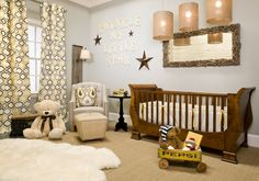 Nursery (sweet/inspirational details while still flowing with rest of home decor)