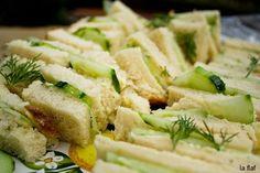 Cucumber Sandwich Recipes - traditional English tea sandwich