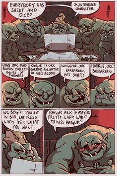 In Dungeons and Dragons you can do anything.