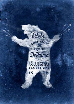 Brush lettering for DePalma Clothing