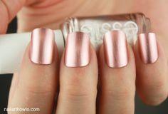 Essie Rose Gold Nails