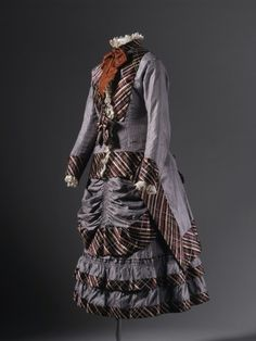 Girl's Dress - 1876 - The Los Angeles County Museum of Art
