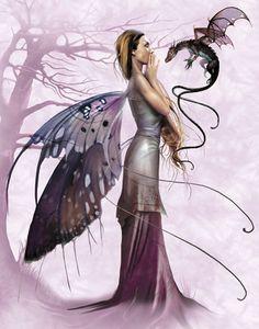 Beautiful Pagan Fairy