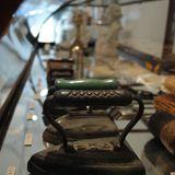 Antique pressing irons at Dear Rivington, NYC