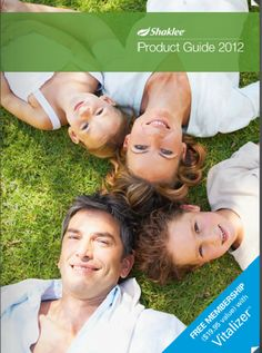 Shaklee 2012 Product Guide