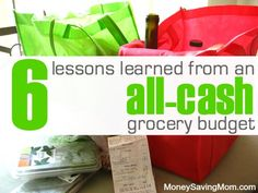 Have you ever thought it was just too much trouble to mess with having an all-cash grocery budget? This post has 6 lessons one family learned from switching to an all-cash grocery budget and how they've discovered that using cash truly makes a big difference!