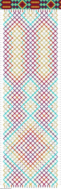 pattern, color, friendshipbracelet