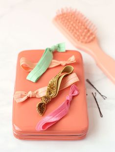 How to make those cute hair elastics that boutiques charge a fortune for.