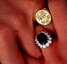 Princess Diana Engagement Ring  #ring #engagement #diamond #bling