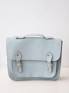 Large Bag number 3 leather satchel