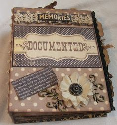 """Simple Stories """"Documented"""" Paper  Mini Album"""