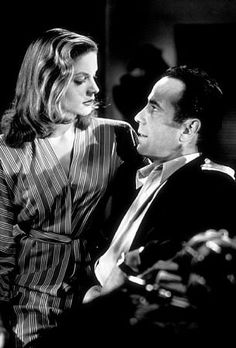 """Slim (Lauren Bacall): """"You know you don't have to act with me, Steve. You don't have to say anything, and you don't have to do anything. Not a thing. Oh, maybe just whistle. You know how to whistle, don't you, Steve? You just put your lips together and... blow."""" -- from To Have and Have Not (1944) directed by Howard Hawks"""