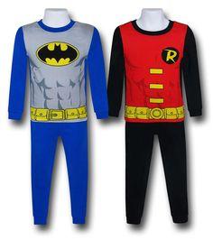 Batman and Robin Kids Pajamas