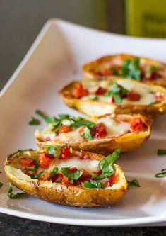 Pepperoni Pizza Potato Skins