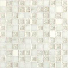 Check out this Daltile product: Aura Silver Cloud 1 x 1 Mosaic AU30