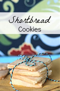 The BEST Shortbread Cookies Recipe Ever!