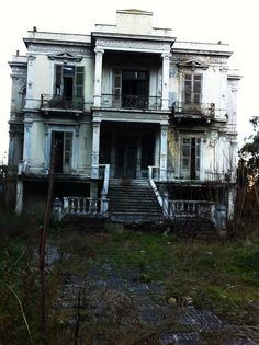 abandoned home