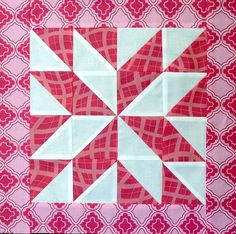 Pinwheel block for my sampler quilt