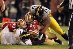 Ben Roethlisberger was sacked three times and threw three interceptions as the 49ers thumped the Steelers 20-3 on MNF.