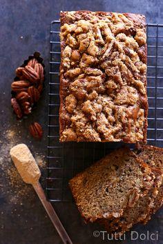 Maple Pecan Banana Bread | Tutti Dolci